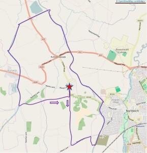 Acton walk route