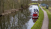 Trent & Mersey canal. A section without white spots