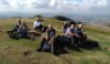 Coffee stop on top of the Wrekin