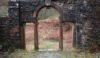 Errwood Hall arch