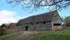 Little Moreton Hall Farm 15th century barn with 20th century additions